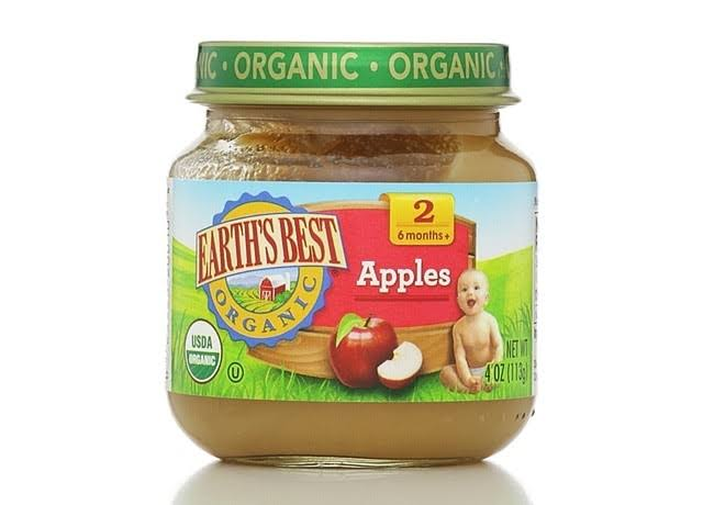 Earth's Best Organic Apple Baby Food