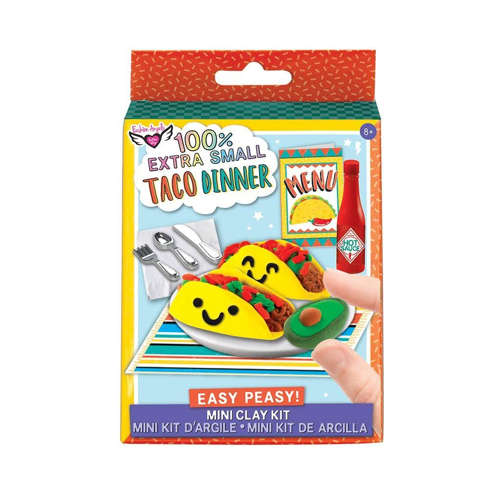 Fashion Angels 100% Extra Small Mini Clay Kit: Taco Dinner
