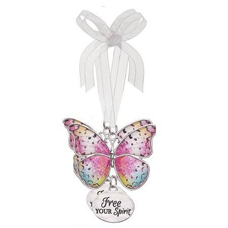Ganz E7 Home Decor Christmas Spring Blissful Journey Butterfly Ornament - Your Spirit