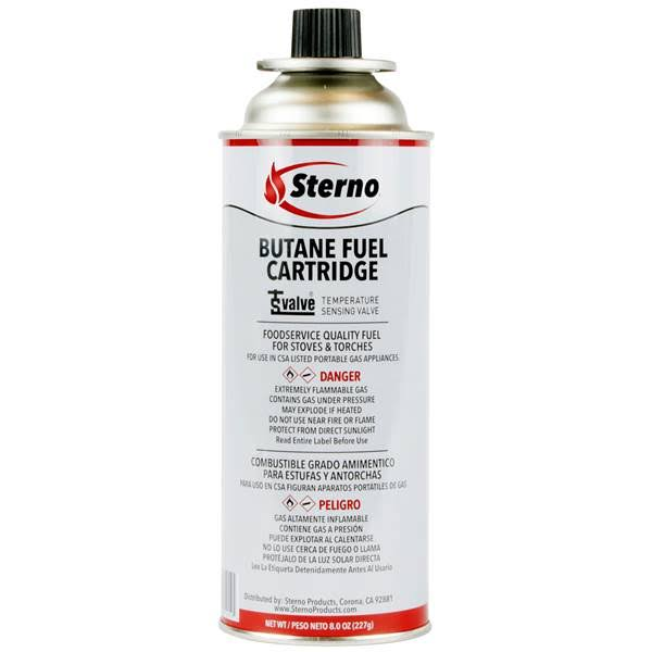 Sterno Butane Fuel Cartridge - 8oz