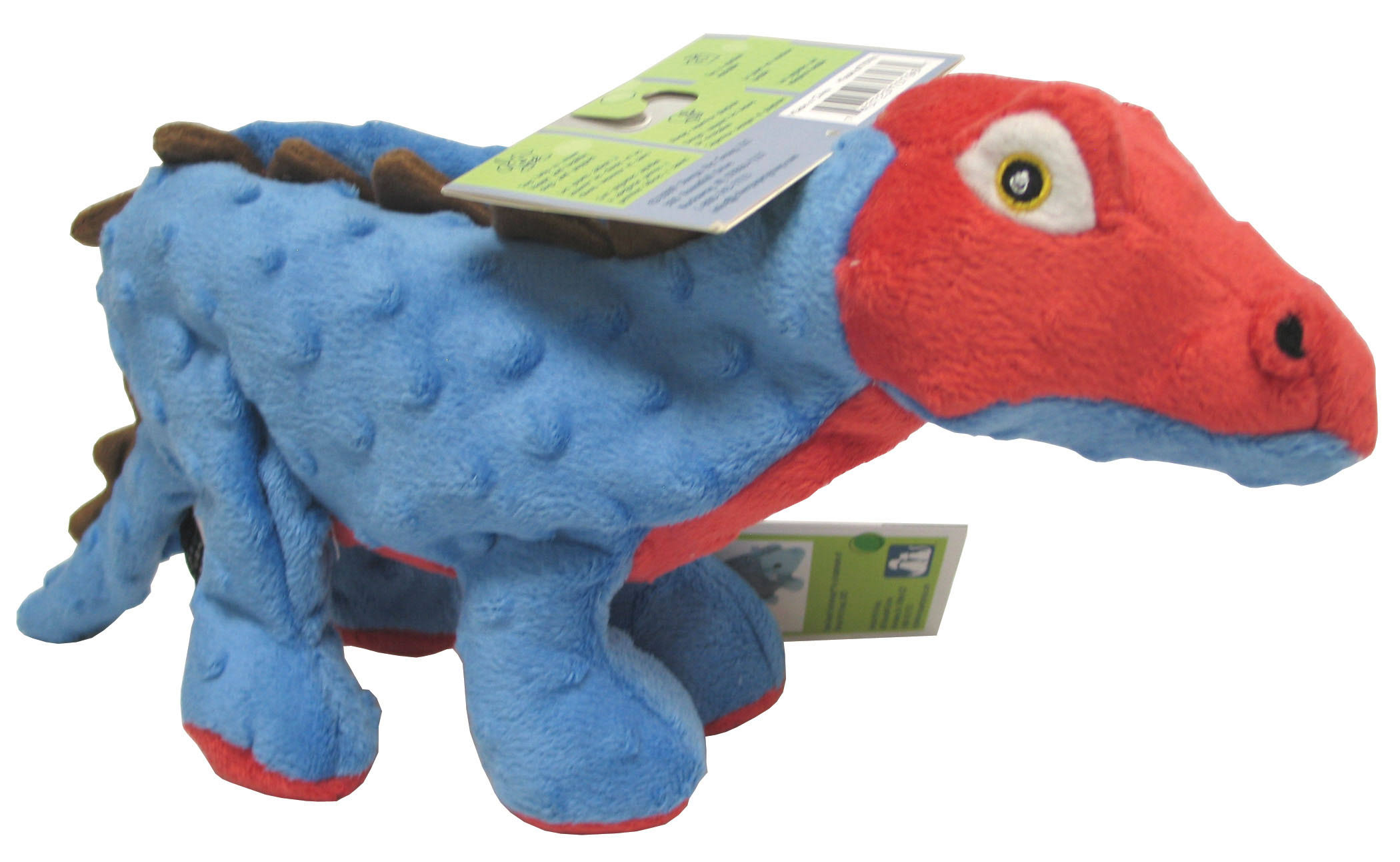 goDog Spike The Stegosaurus Dog Toy