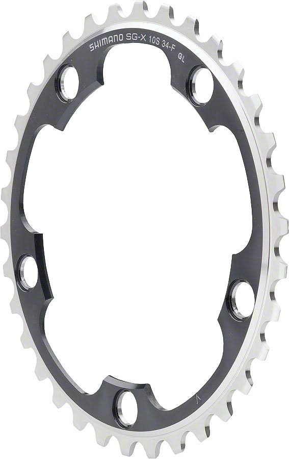 Shimano Dura Ace Bicycle Chainring - 110mm, 34T, 10 Speed