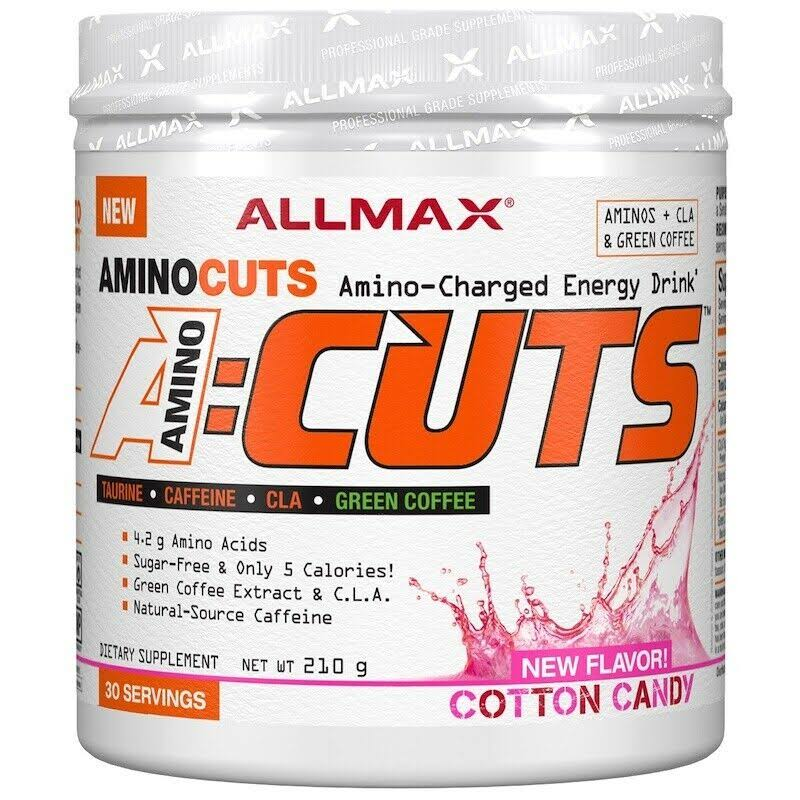 Allmax Nutrition | A:Cuts 30 Servings - Cotton Candy