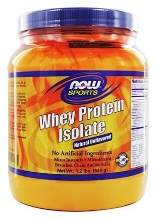 Now Sports Whey Protein Isolate - 544g