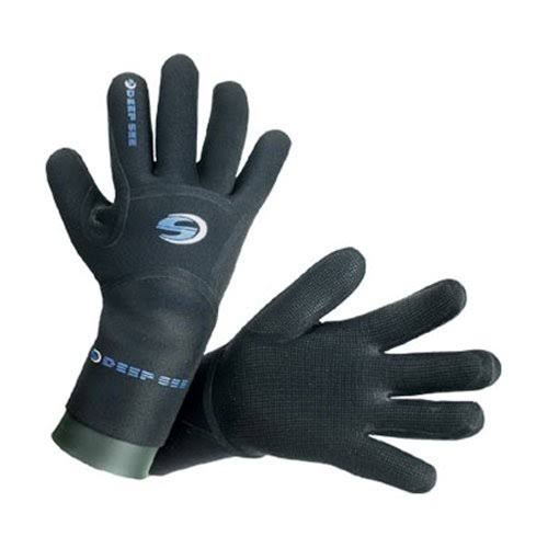 Deep See 4mm Men Dry Comfort Dive Gloves-XLG
