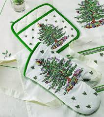 Spode Christmas Tree by Christmas Trees Kitchen Towel Oven Mitt Sets Christmas Wikii