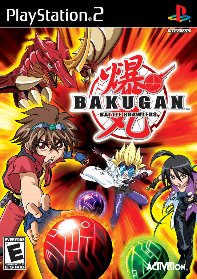 Bakugan Battle Brawlers - Play Station 2