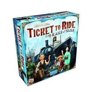 Ticket to Ride: Rails & Sails Game