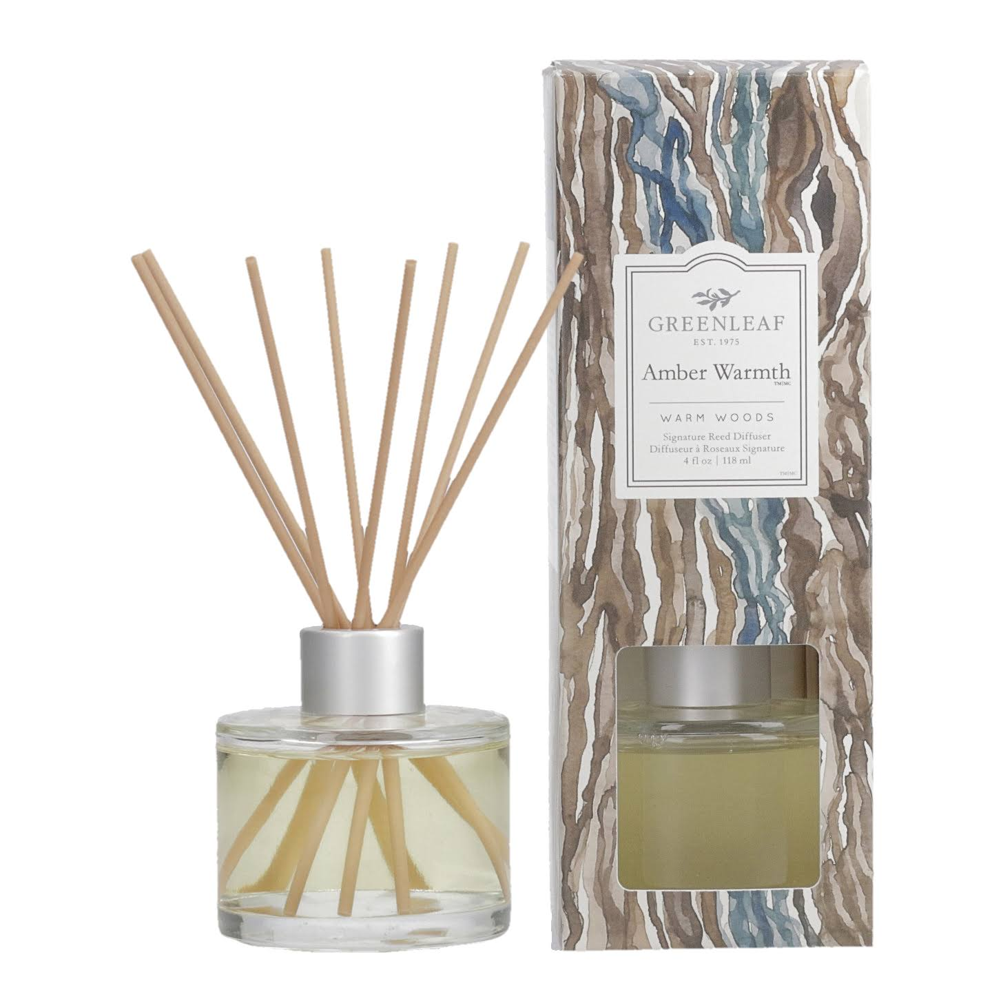 Greenleaf Gifts Amber Warmth Signature Reed Diffuser