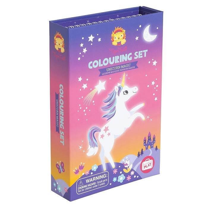 Schylling Colouring Set Unicorn Magic