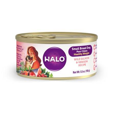 Halo Small Breed - Healthy Weight Salmon & Venison Recipe 5.5 oz
