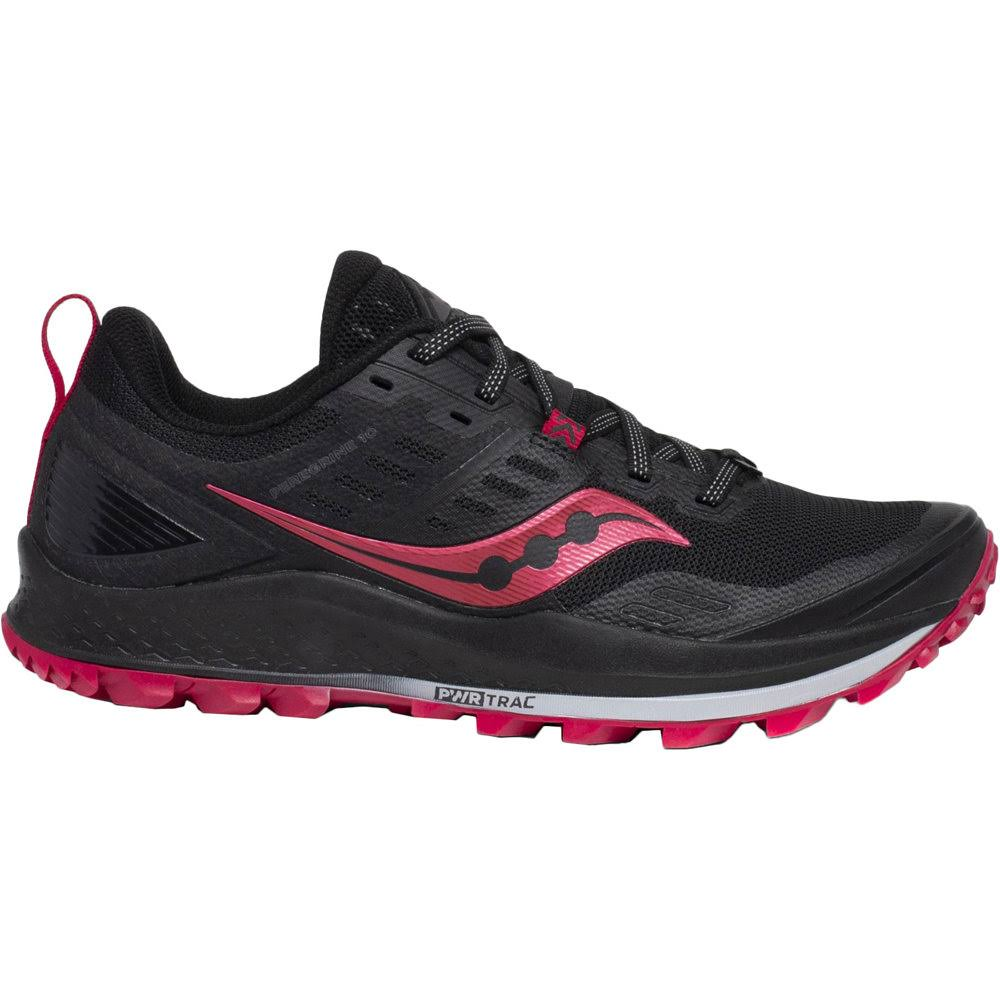 Saucony Women's Peregrine 10 Trail Running Shoes - Black