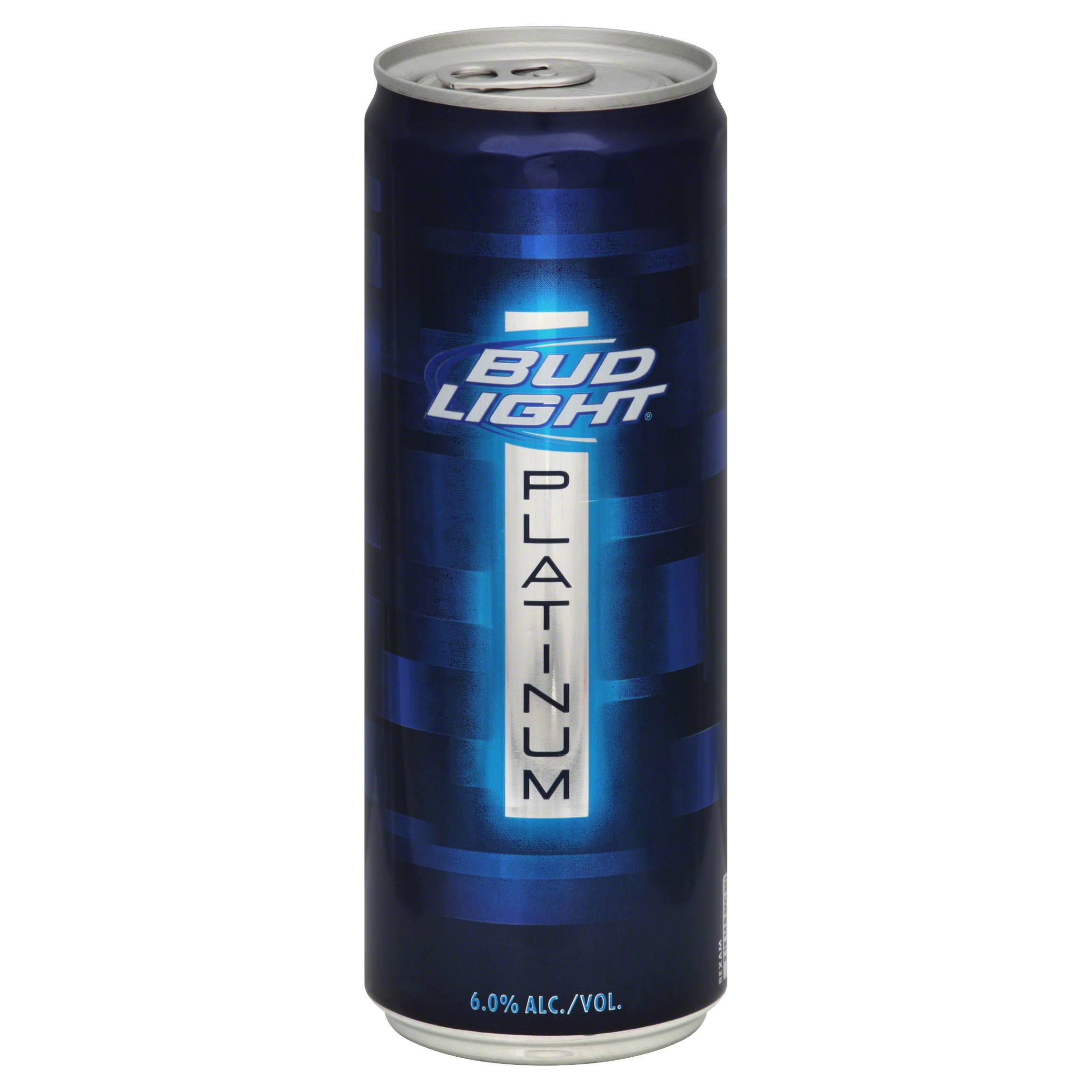 Bud Light Beer, Platinum - 12 fl oz