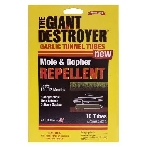 Giant Destroyer Mole and Gopher Repellent Tube - 10ct