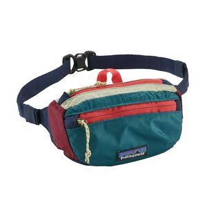 Lightweight Travel Mini Hip Pack - Arrow Red/Navy