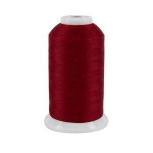Superior Threads 11602-413 So Fine Scarlet 3-Ply 50W Polyester Thread, 3280 yd