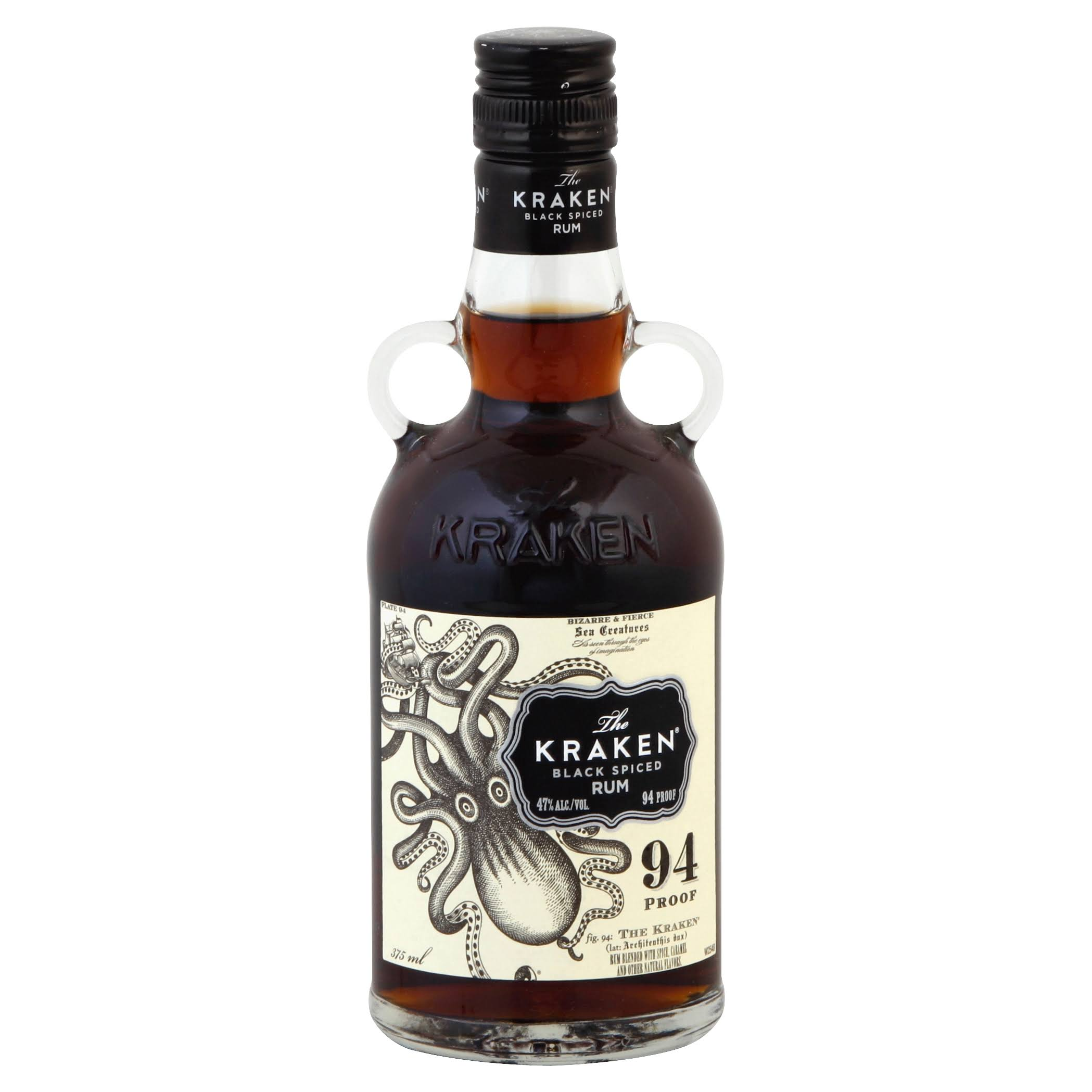 The Kraken Black Spiced Rum - 375 ml bottle