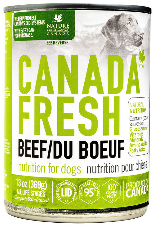 Petkind Pet Products Canada Fresh Beef 13 oz