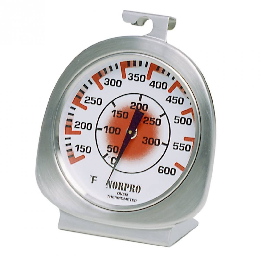 "Norpro Oven Thermometer - Silver, 1.25"" x 3.75"" x 3.75"""