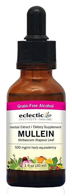 Eclectic Institute Mullein Extract Supplement - 1oz
