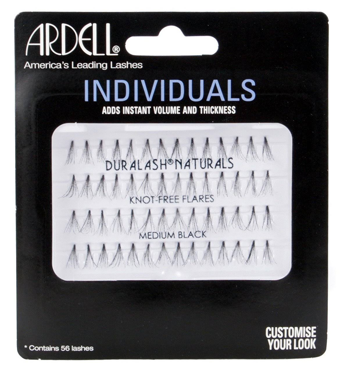 Ardell Individuals Lashes - Medium, Black, 56 Lashes