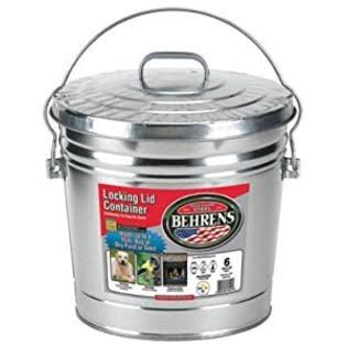 Behrens 6106 Locking Lid Can - 6 Gallon