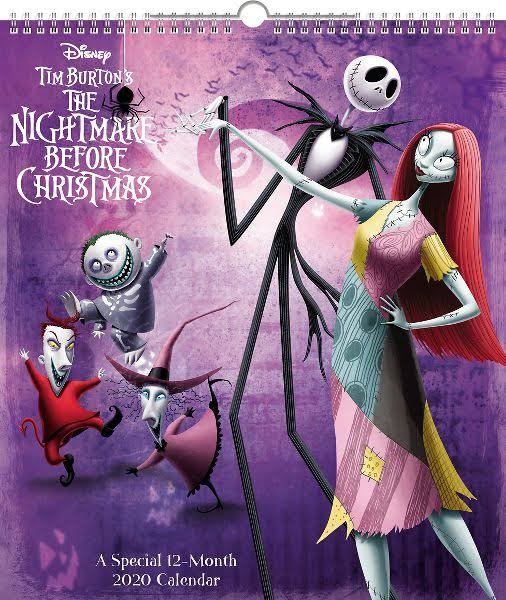 Mead Nightmare Before Special Edition 2020 Wall Calendar