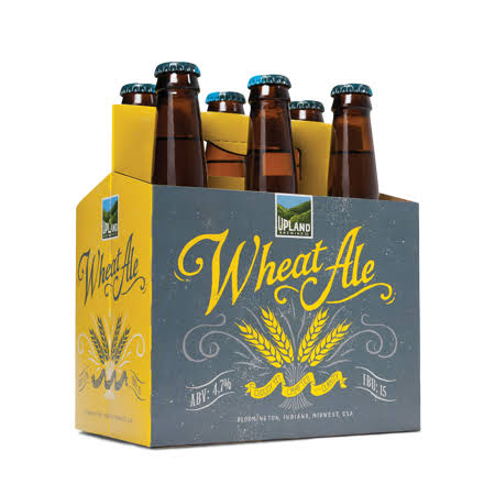 Upland Wheat Ale - 6 pack, 12 fl oz bottles