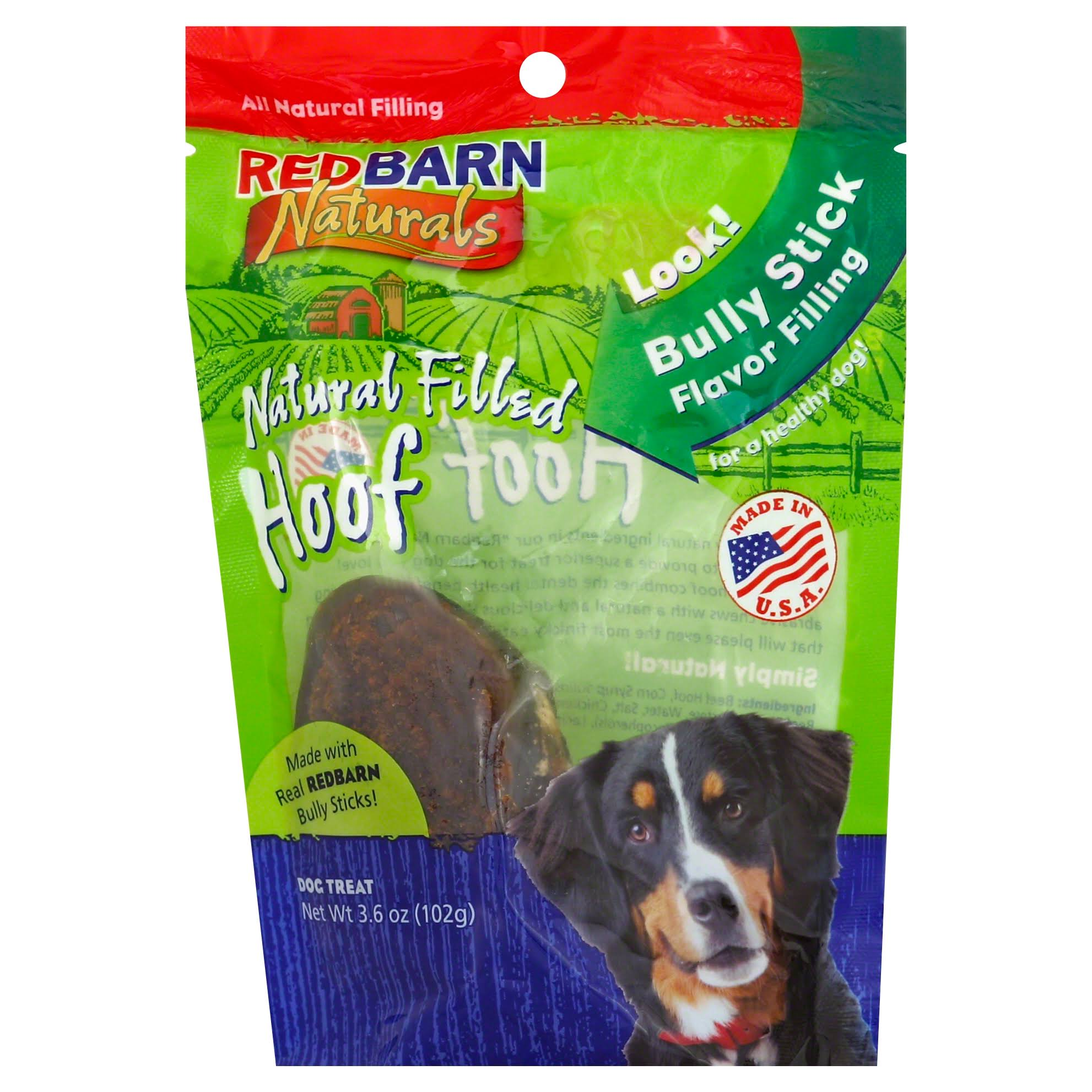 Redbarn Pet Products Natural Filled Hoof