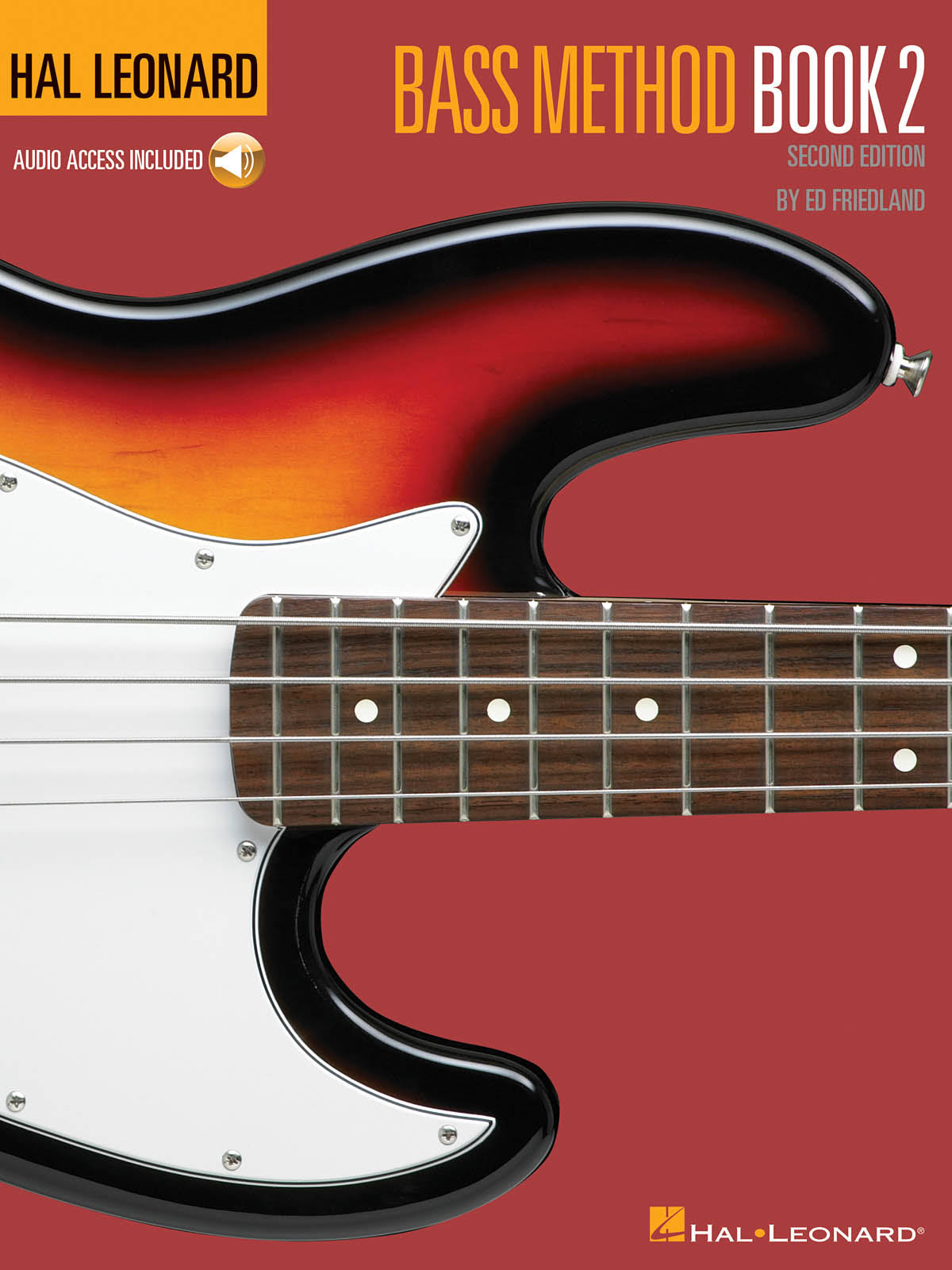 Hal Leonard Bass Method Book 2 - Ed Friedland