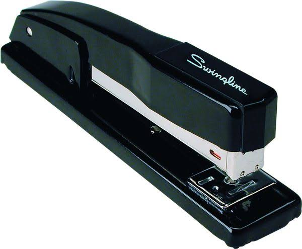 Swingline Commercial Desk Stapler - Black, 20 Sheet Capacity