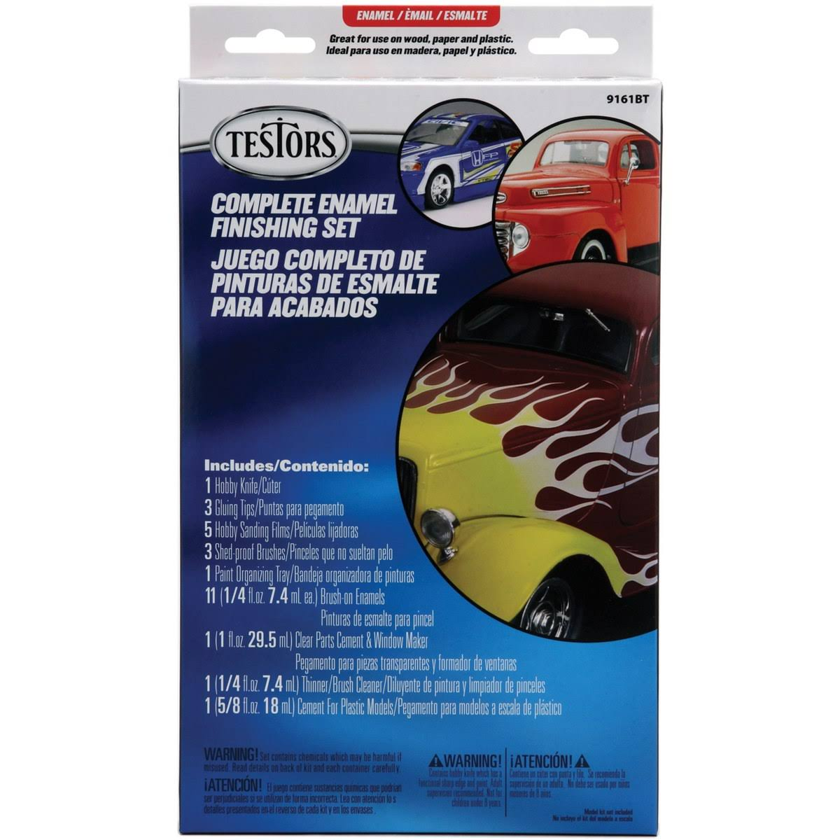 Testors Gloss Enamel Finishing Set