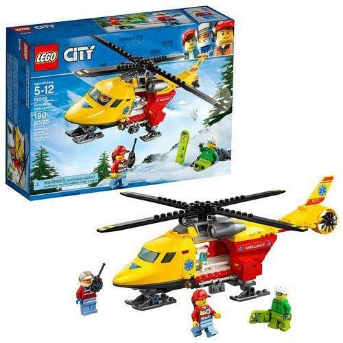 Lego Building Toy, City, Ambulance Helicopter