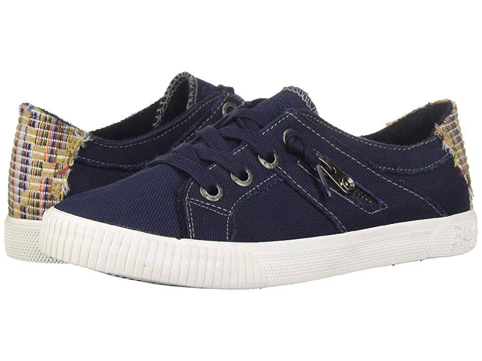 Blowfish Women's Malibu Fruit Shoes - Blue Canvas, 9 US