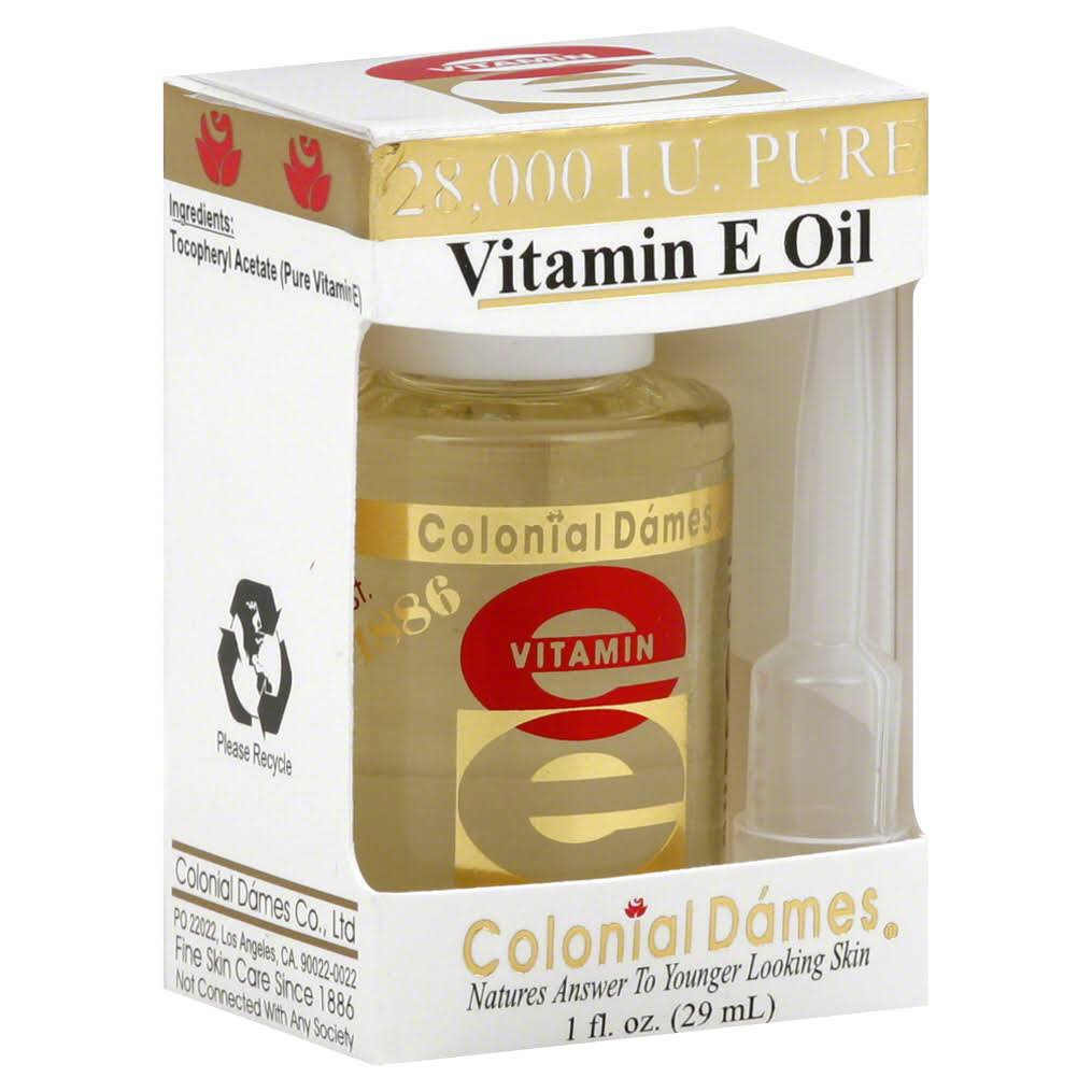 Colonial Dames Vitamin E Oil with Dispenser - 28,000 iu, 2pk