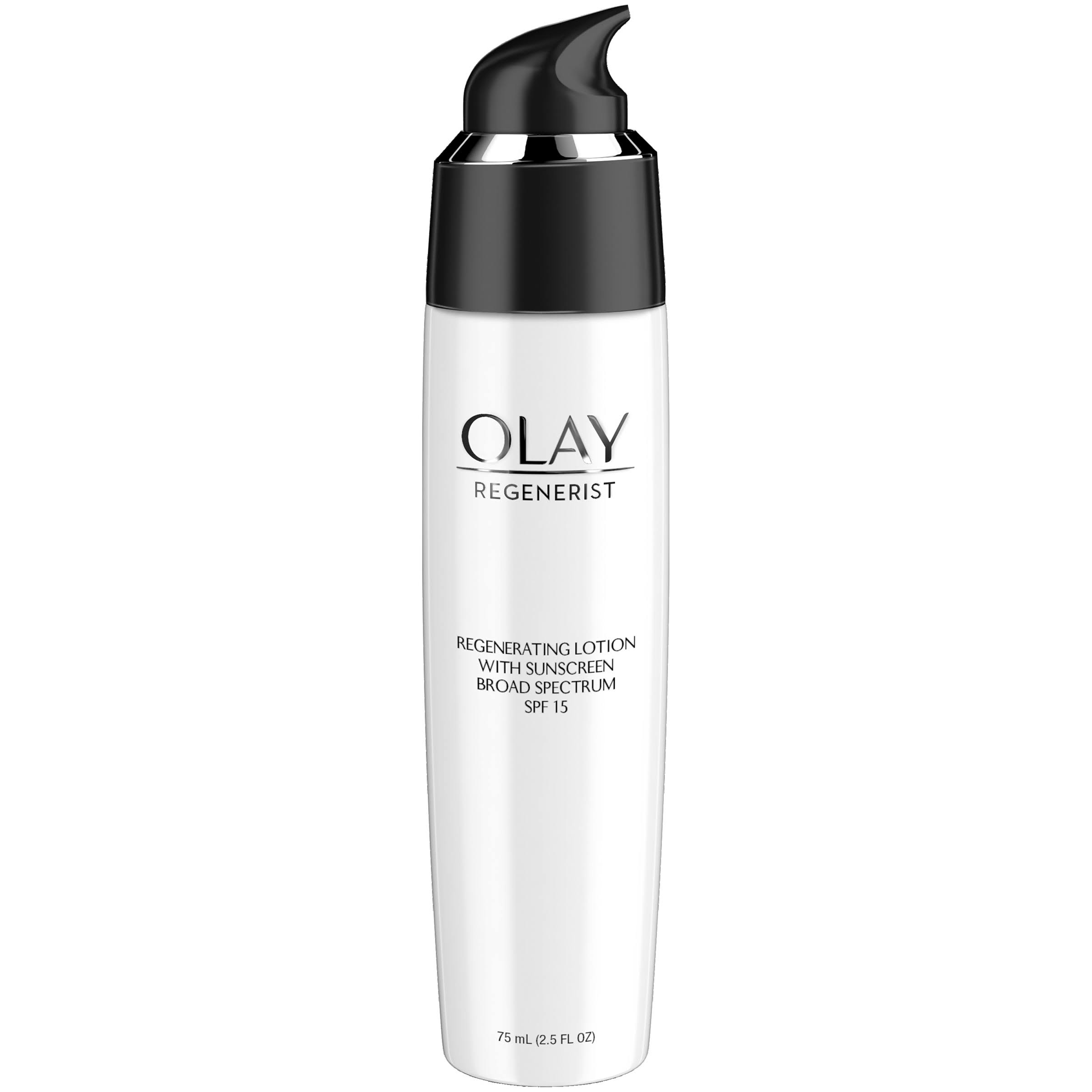 Olay Regenerist UV Defence Regenerating Lotion - SPF 15, 2.5oz