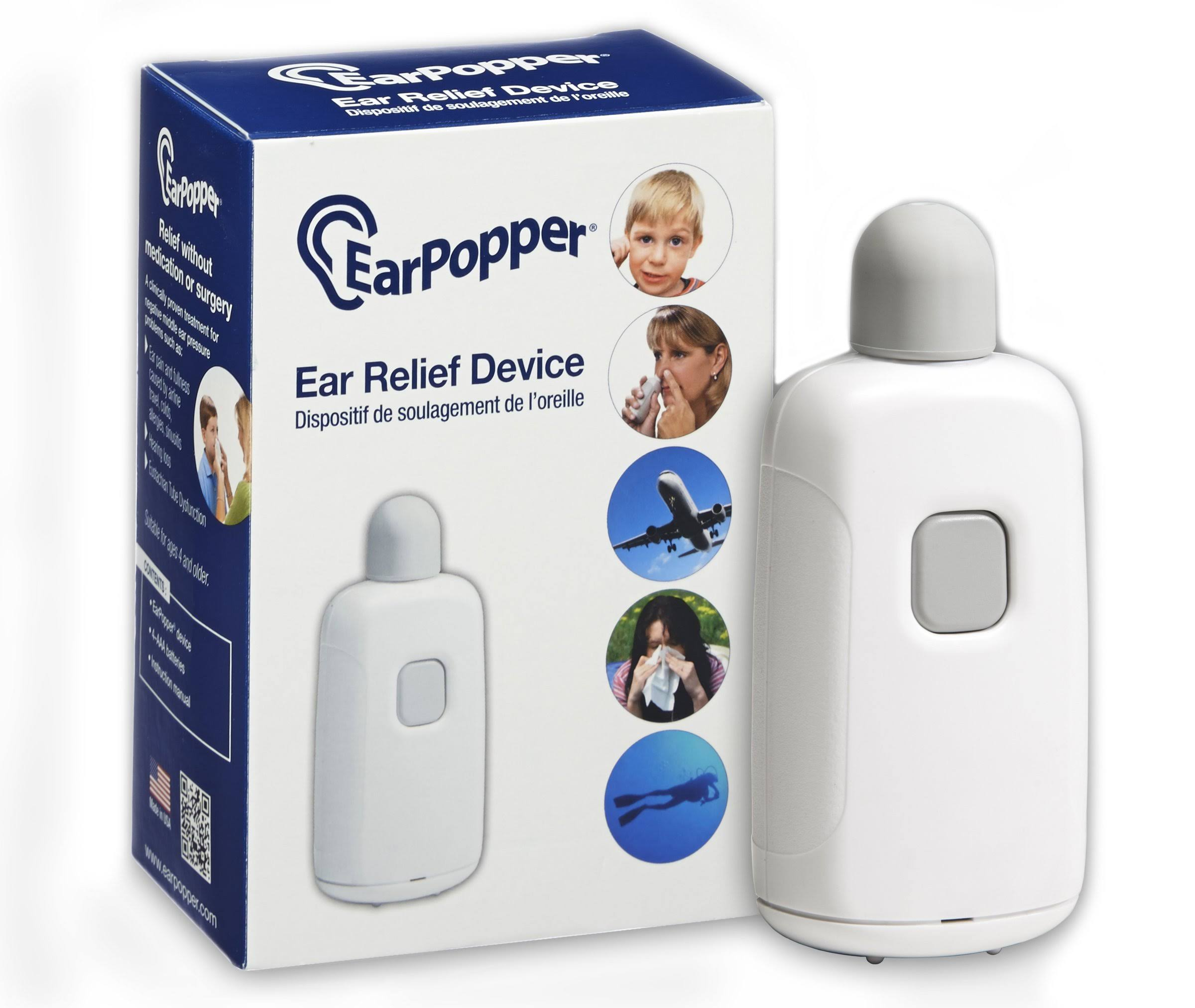 Ear Popper Home Version Ear Pressure Relief Device