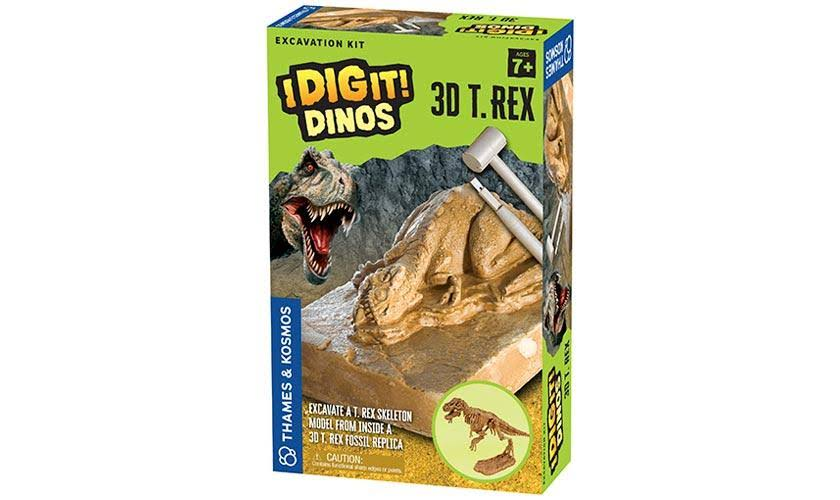 Thames & Kosmos - I Dig It! Dinos - 3D T. Rex Excavation Kit