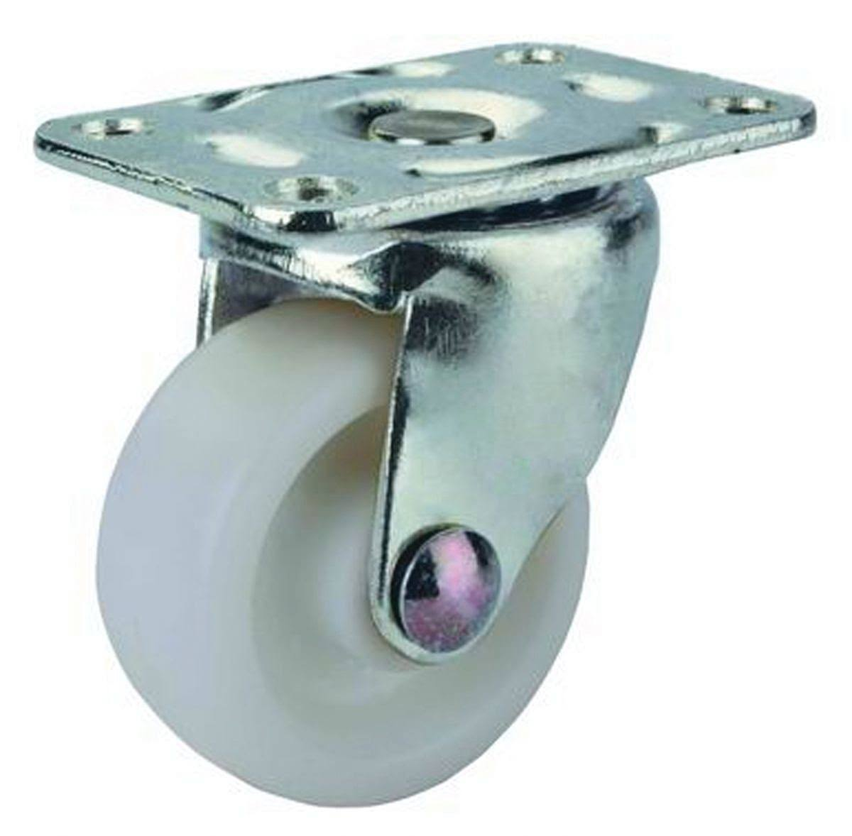 Prosource Caster Plate 1-5/8in zinc/wht
