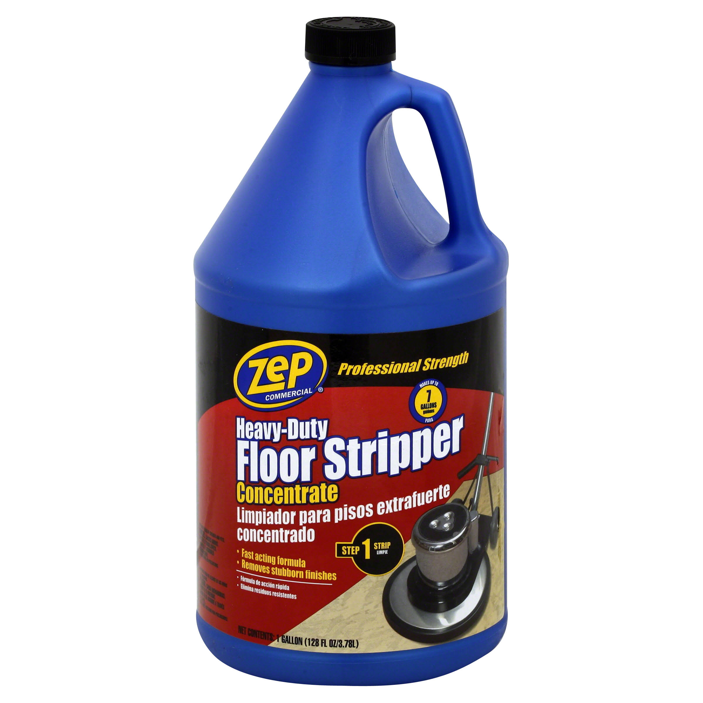 Zep Heavy Duty Floor Stripper Concentrate - 128oz