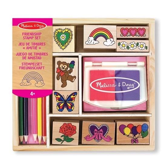 Melissa & Doug Friendship Stamping Set