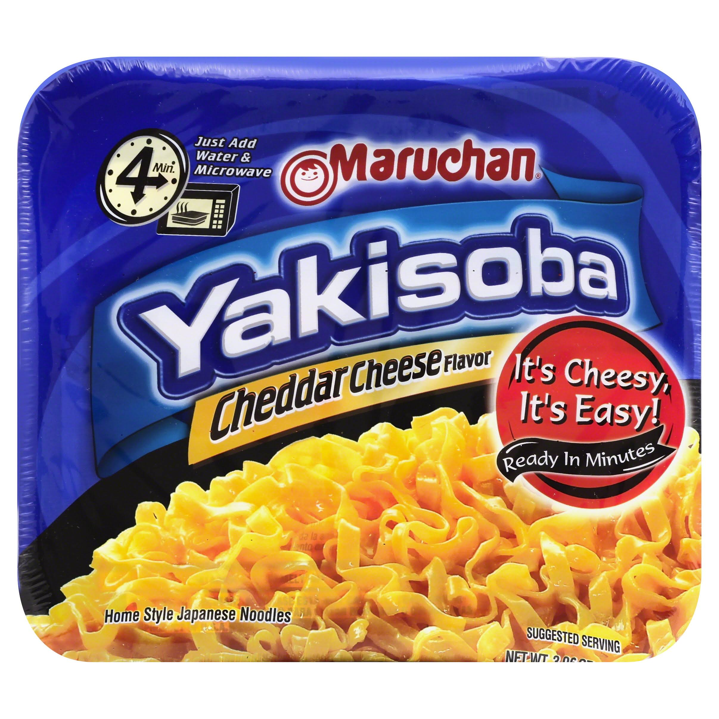 Maruchan Yakisoba Noodles - Cheddar Cheese Flavor, 3.96oz