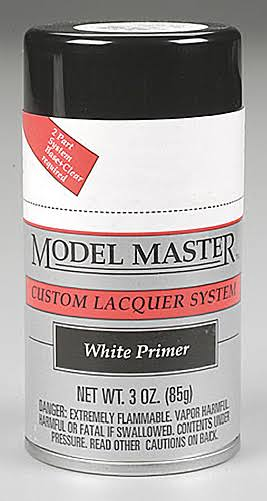 Testors 28138 Model Master Spray White Primer 3 oz