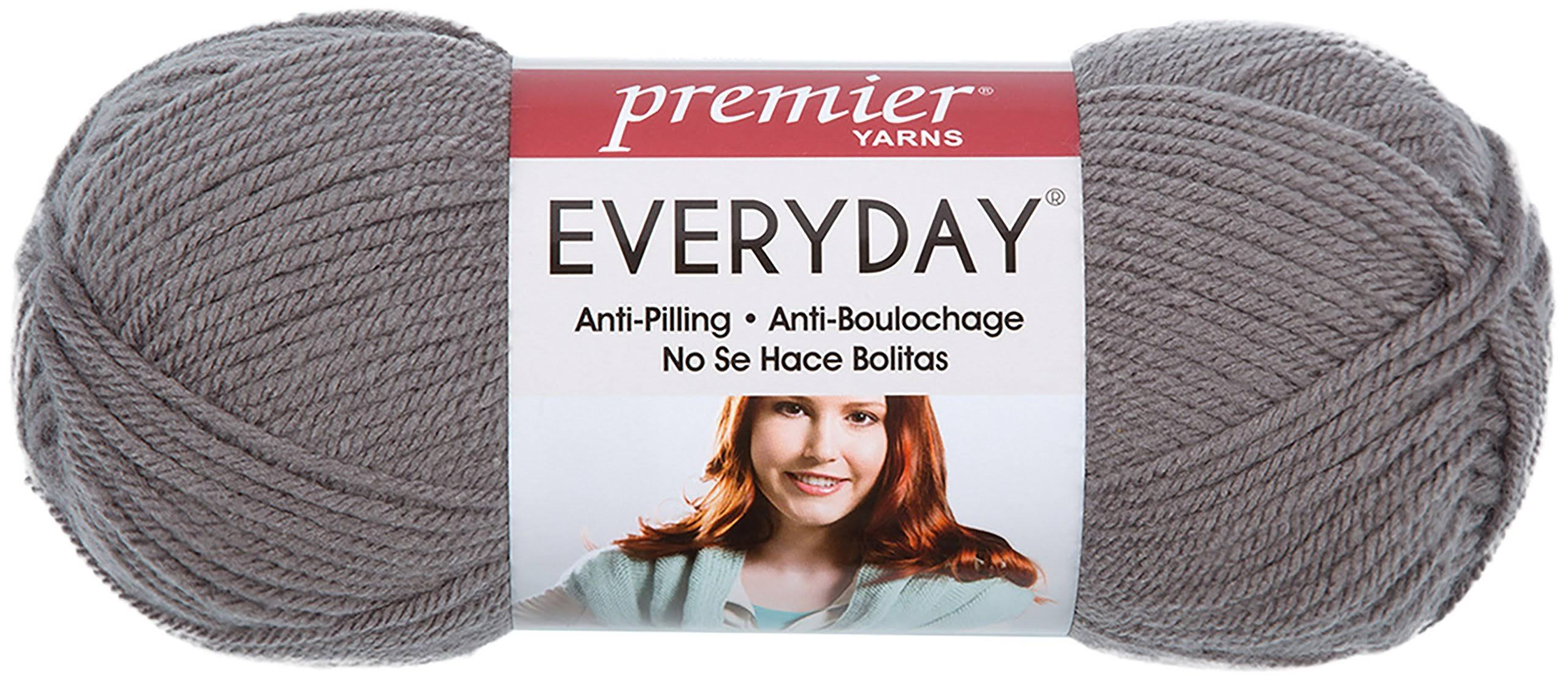 Premier Yarns Everyday Solid Yarn - Steel, 339g, 557m
