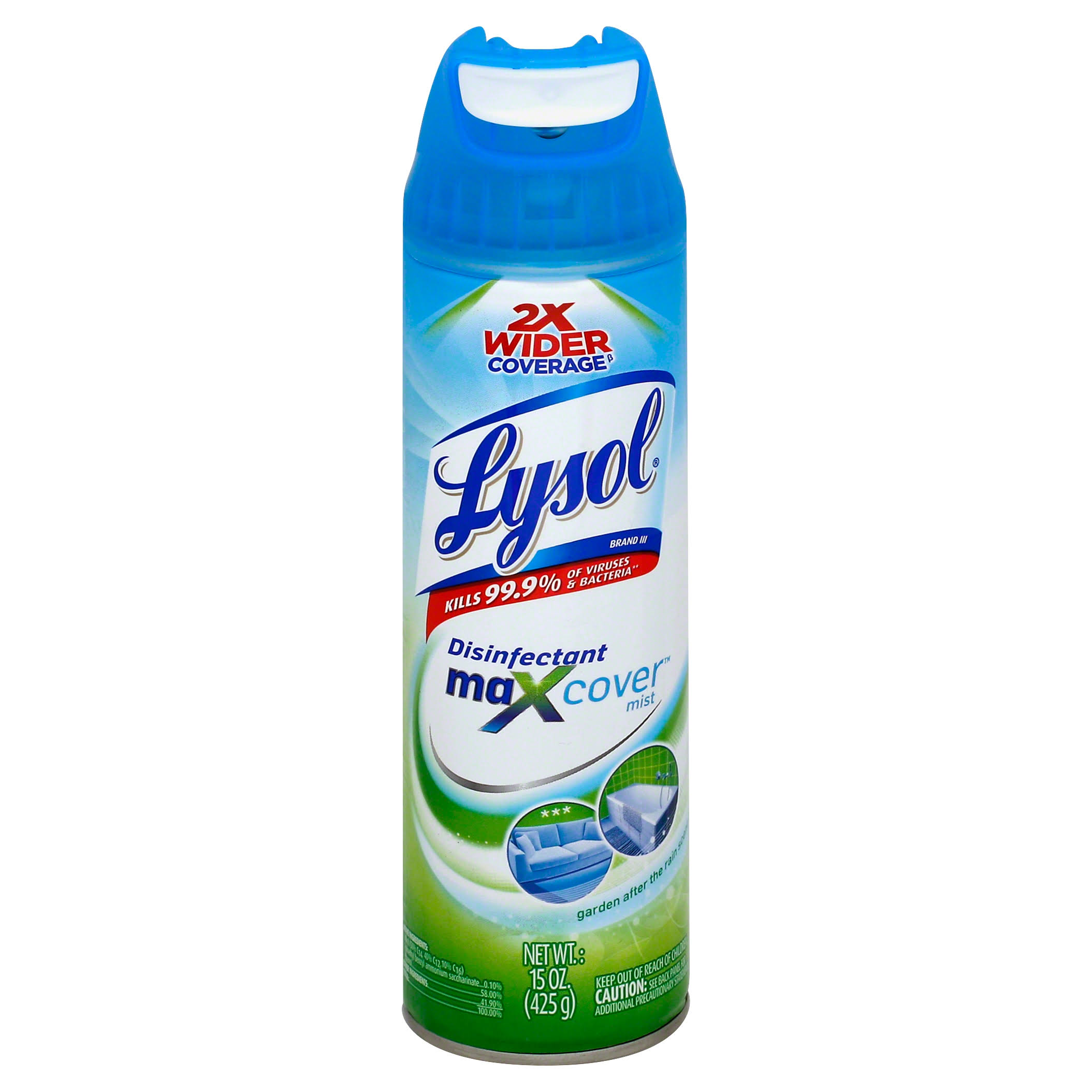 Lysol Garden After the Rain Maxcover Disinfectant - 15oz