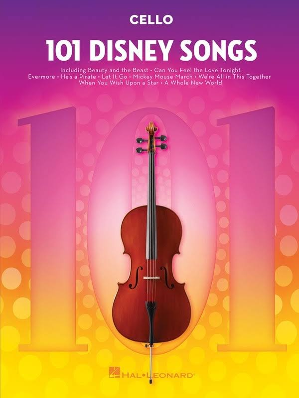 101 Disney Songs: for Cello