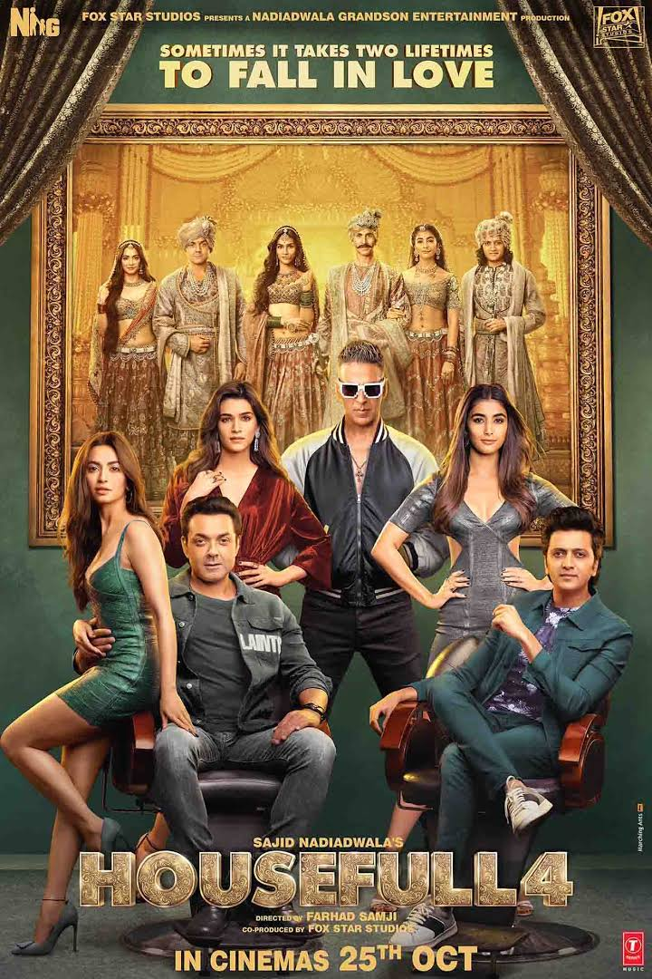 Housefull 4 (2019) 480p, CD-Rip,720p PreDvD Rip x264 | Full Movie | Watch Online | Download