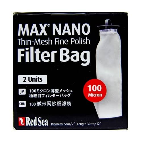 Red Sea Max Nano Thin Mesh Fine Polish Filter Bags - 100 Micron