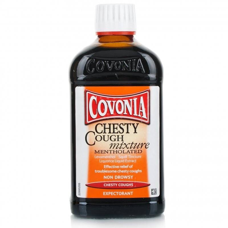 Covonia Chesty Cough Mixture - 300ml, Mentholated