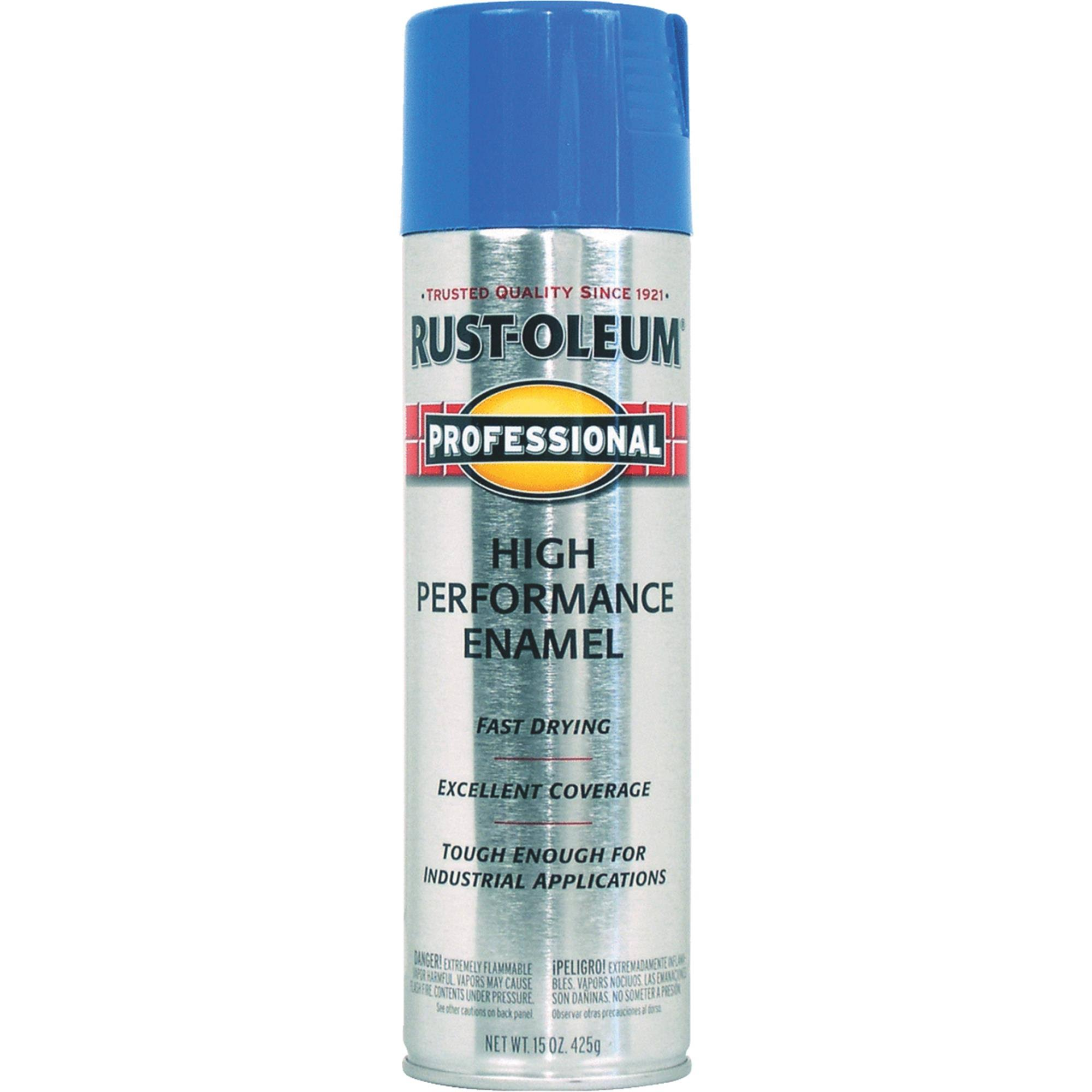 Rust-Oleum Professional High Performance Enamel Spray Paint - Safety Blue